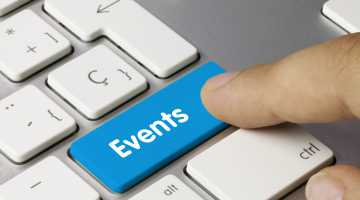 Events keyboard key finger