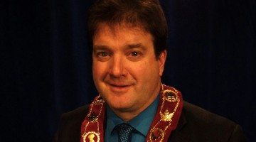Contributed photo of St. Marys Mayor Al Strathdee