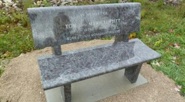 Contributed photo of the stolen bench