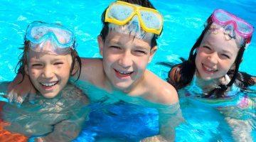 File image of swimming children