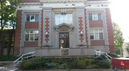 File image of the Stratford Public Library