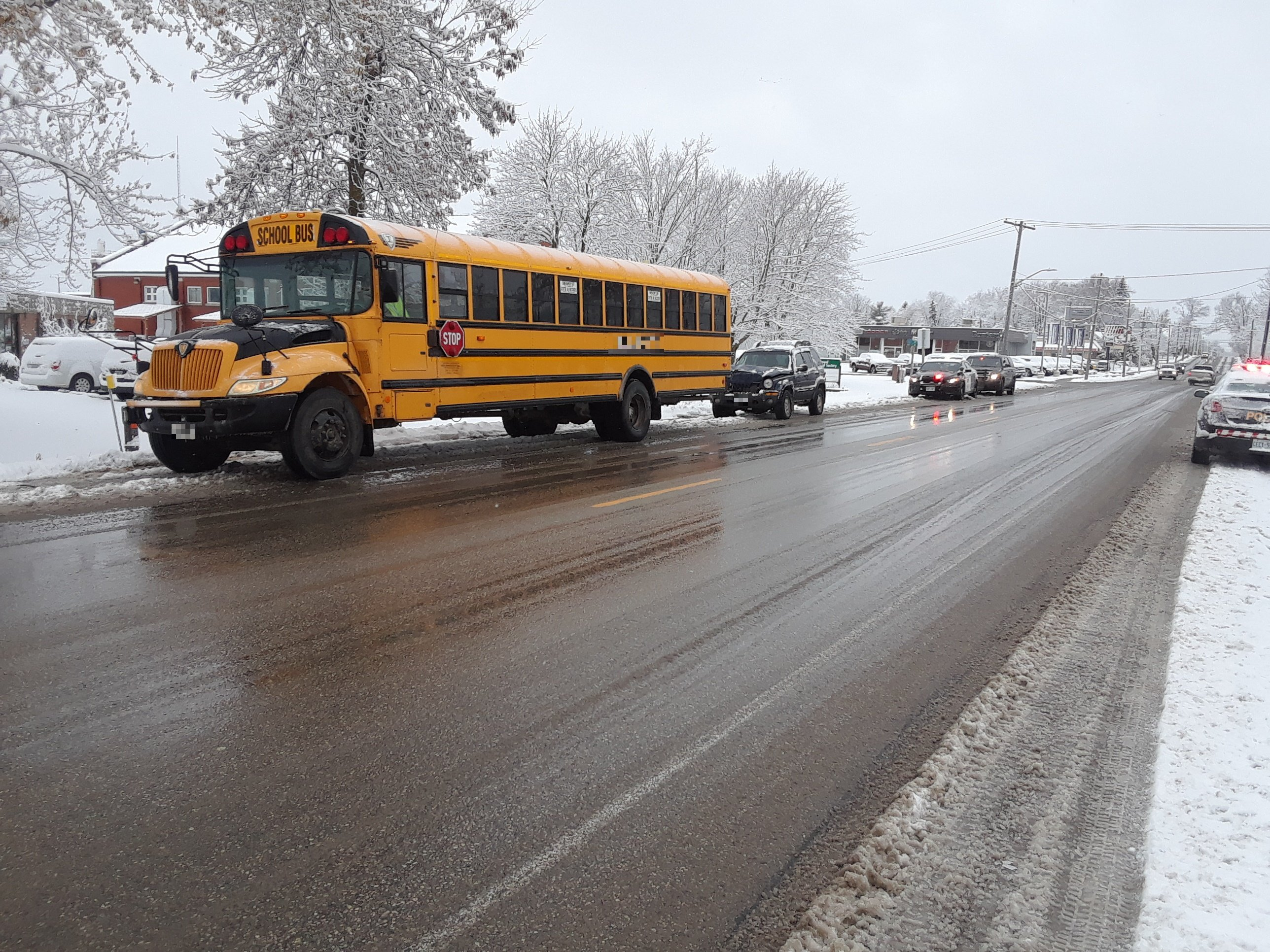 Police: No injuries after collision involving a school bus in Listowel - My Stratford Now